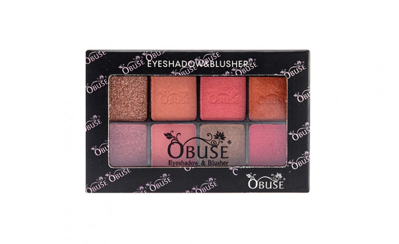 OB-1004 Obuse eyeshadow & blush set