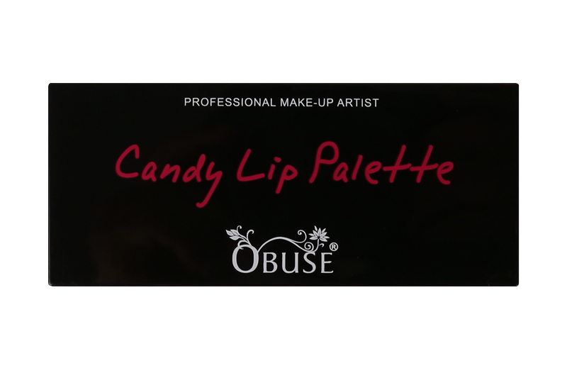 Obuse Candy Lip Palette