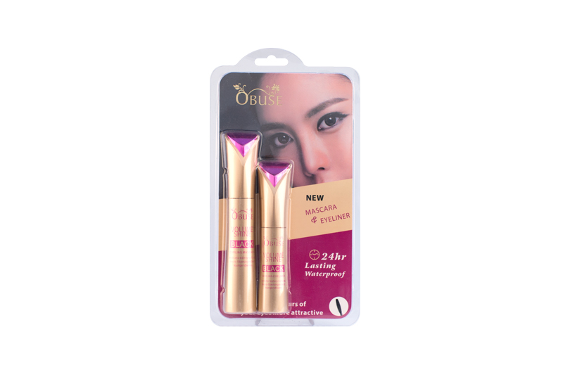 OB-1355 Obuse Volume Mascara&Eyeliner; Waterproof Black