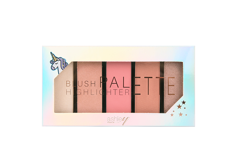 A-325 ASHLEY HIGHLIGHT BLUSH BRONZE PALETTE