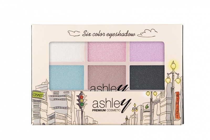 Six Color Eyeshadow