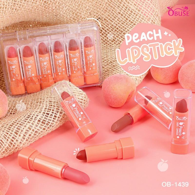 Obuse Peach Lipstick
