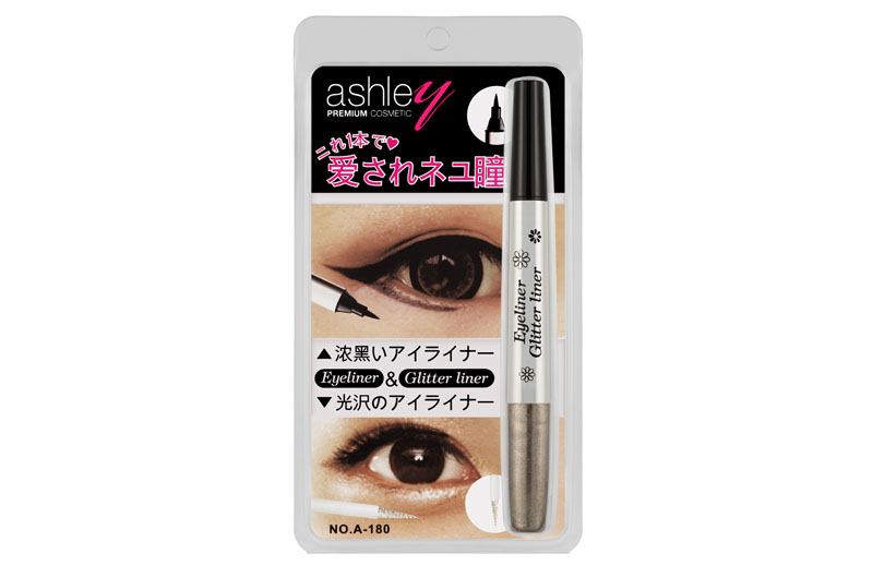 Ashley 2 in 1 Glitter Liner