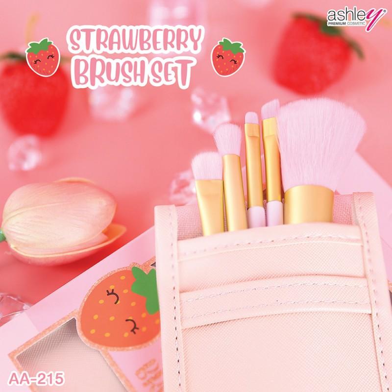 Ashley Strawberry Brush Set