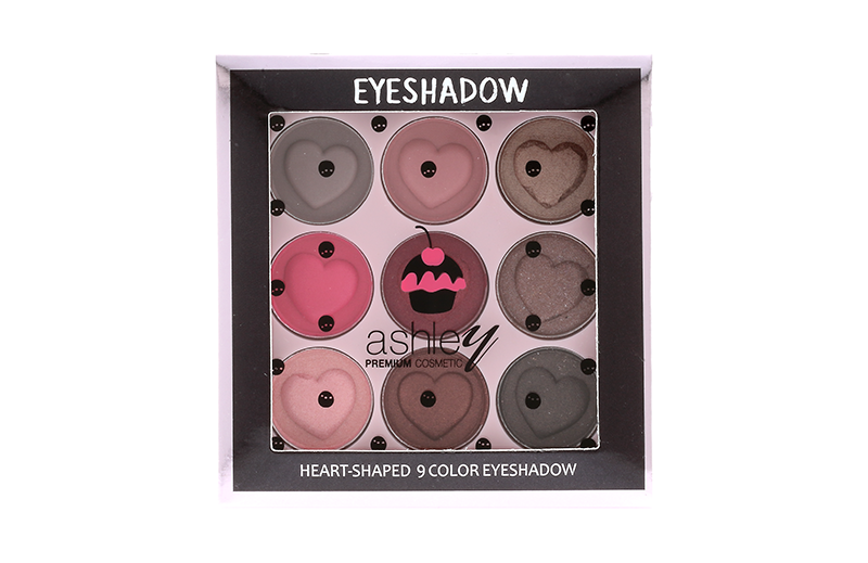 Ashley Nine Color Eyeshadow