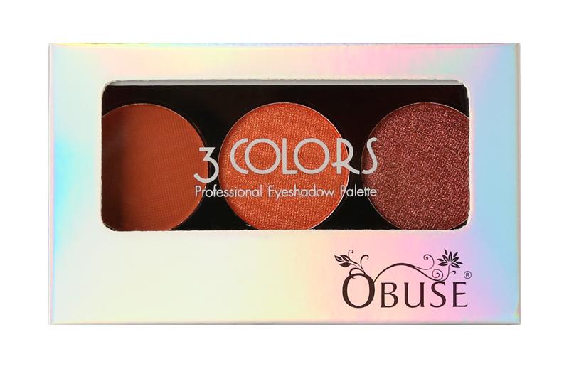 Obuse 3 Colors Eyeshadow