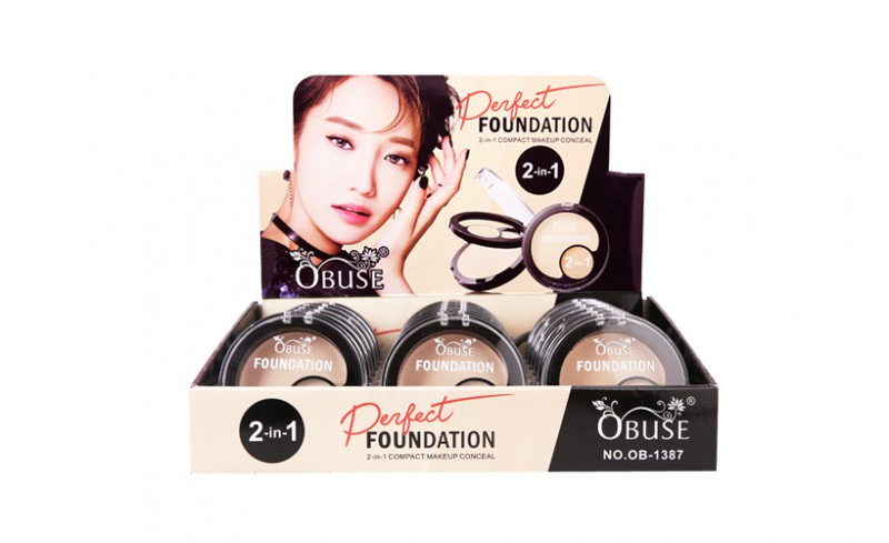 OB-1387 OBUSE FULL COVER FOUNDATION&CONCEALER;