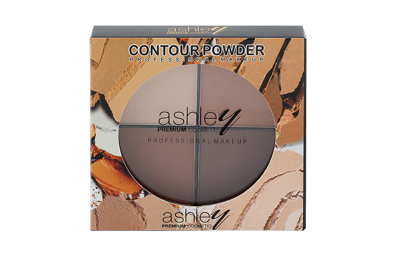 Four Color Contour Powder