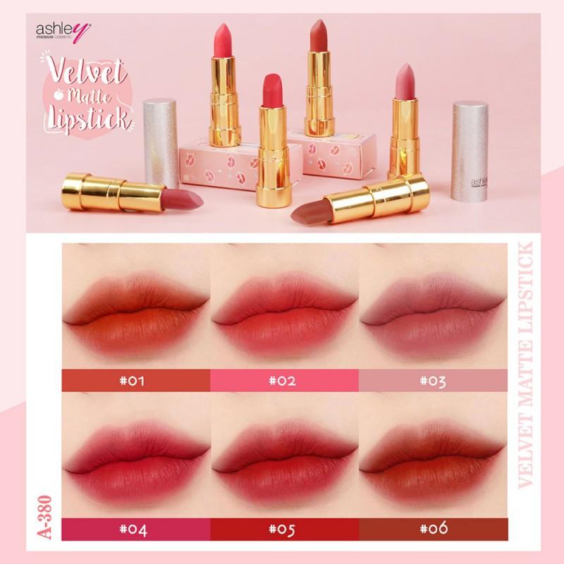 Ashley Velvet Matte Lipstick