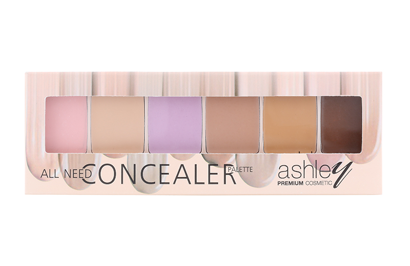 A-262 Ashley SIX CONCEALER PALETTE