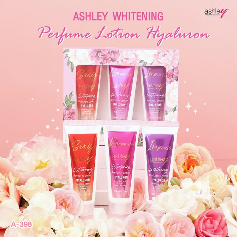 Ashley Whitening Perfume Lotion Hyaluron