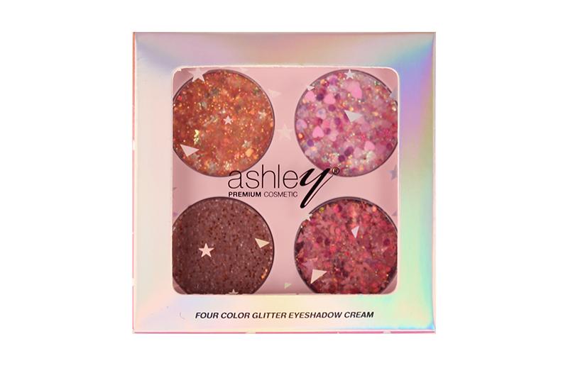 Ashley Four Color Glitter Eyeshadow Cream