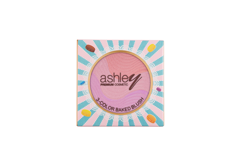 A-219 Ashley Three color Baked Blush