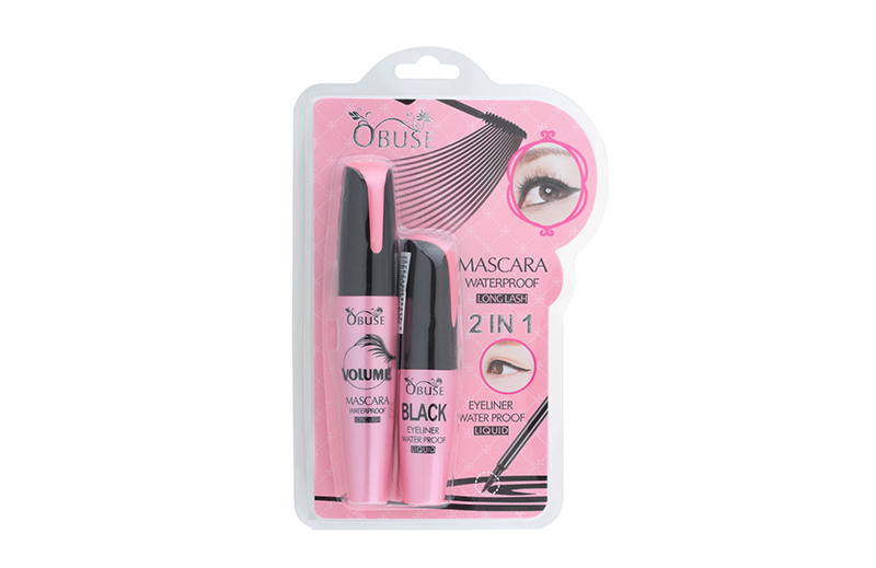 OB-1260 Obuse 2 in 1 Mascara Waterproof longlash