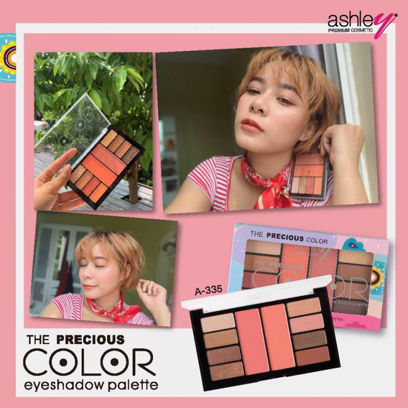 Ashley, Ashley The Precious Color Palette, Ashley The Precious Color Palette รีวิว, Ashley The Precious Color Palette ราคา, Ashley The Precious Color Palette #03, พาเลทท์แต่งหน้า