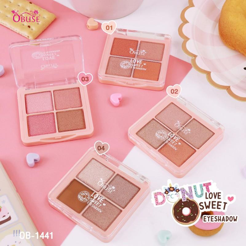 Obuse Donut Love Sweet Eyeshadow