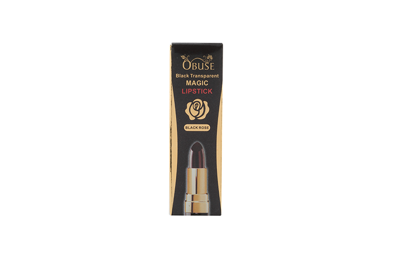 OB-1349 Obuse Black Transparent Magic Lipstick