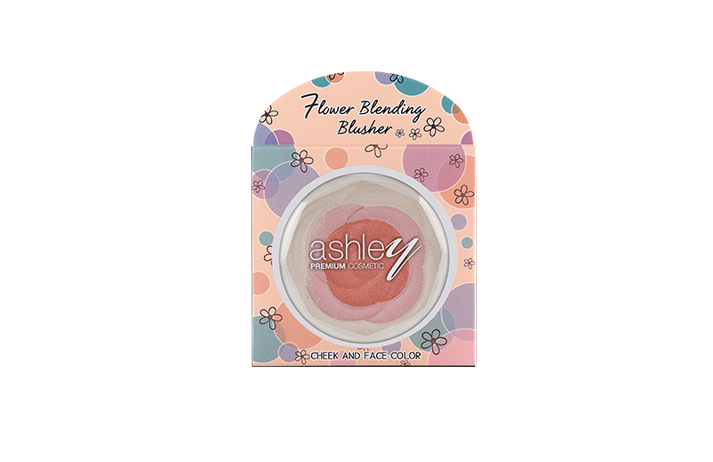 A-190 ASHLEY FLOWER BLENDING BLUSHER