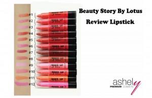Makeup Style Lotus - รีวิวลิปสติก Ashely