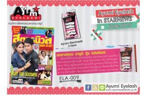 Ayumi in StarNews June 2015