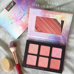 A-341 ASHLEY STAR LIT BLUSHER PALETTE