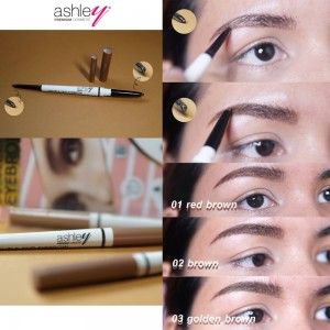 A-316 Ashley Double End Eyebrow