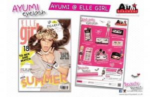 Ayumi in Elle Girl Apr 2015
